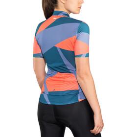 Craft Hale Graphic Koszulka rowerowa z zamkiem błyskawicznym Kobiety, nox/shore
